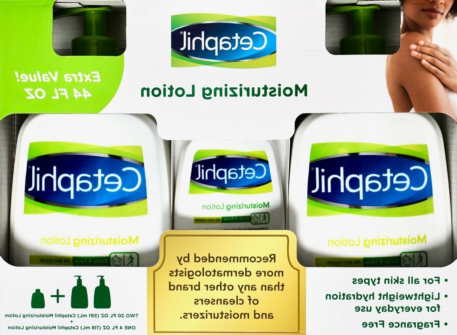 moisturizing lotion body fragrance free value sizes