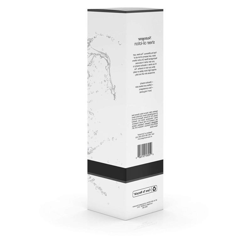 Neutrogena Oil-Lotion, Lightweight &
