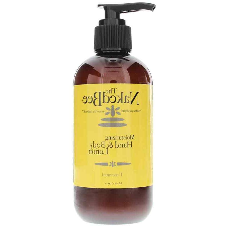The Naked Bee Unscented Hand & Body Lotion 8oz lotion