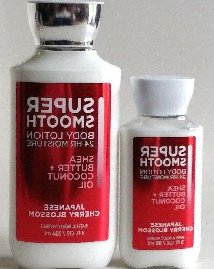 NEW WORKS JAPANESE CHERRY BLOSSOM LOTION SHEA COCONUT
