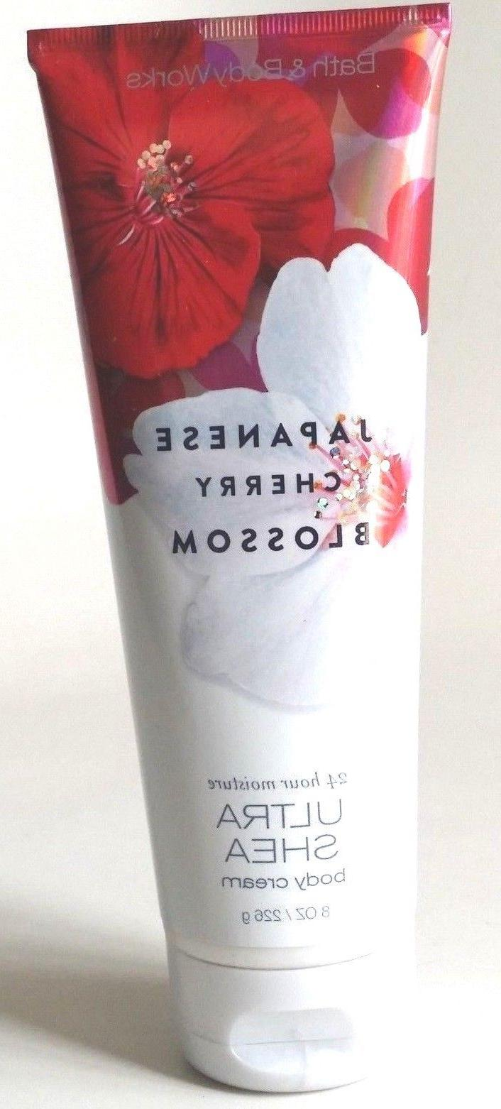 NEW BATH WORKS JAPANESE CHERRY LOTION BUTTER COCONUT