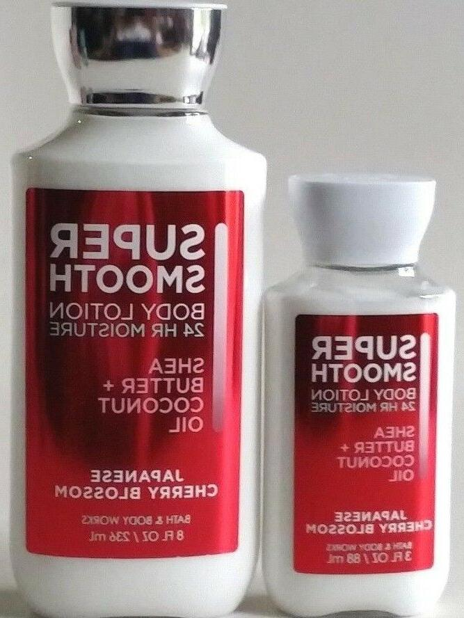 NEW & WORKS JAPANESE CHERRY LOTION COCONUT OIL