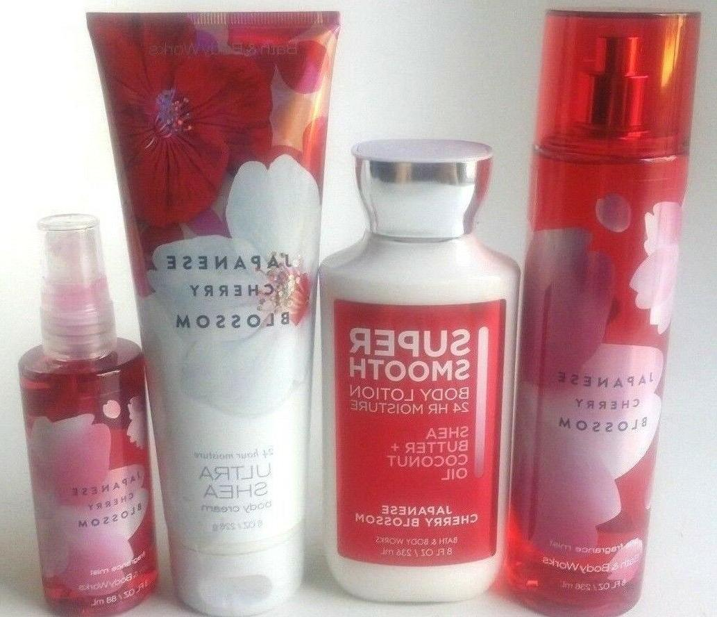 new bath and body works japanese cherry