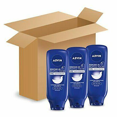 NEW NIVEA In-Shower Nourishing Body Lotion oz