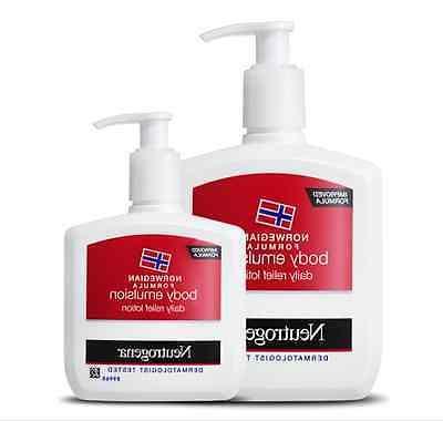 norwegian formula body emulsion lotion 155ml 310ml