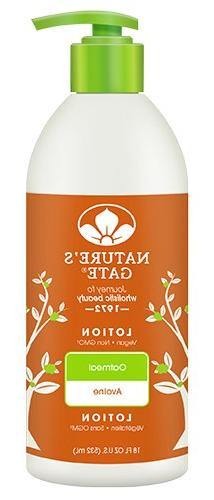 Natures Gate Oatmeal Moisturizing Lotion - Soothes Dry and S
