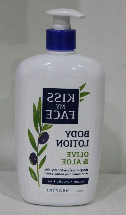 olive and aloe body lotion vegan cruelty