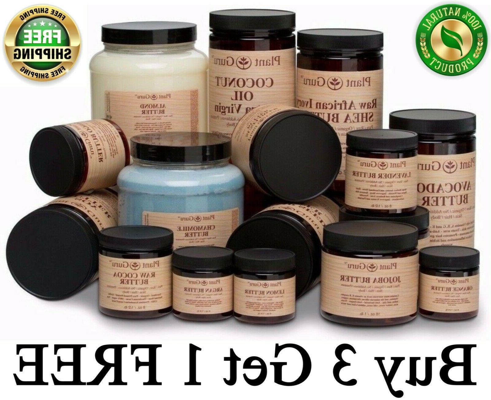 premium organic butters 100 percent pure raw