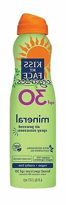 Organics Mineral Continuous Spray Sunscreen, SPF 30