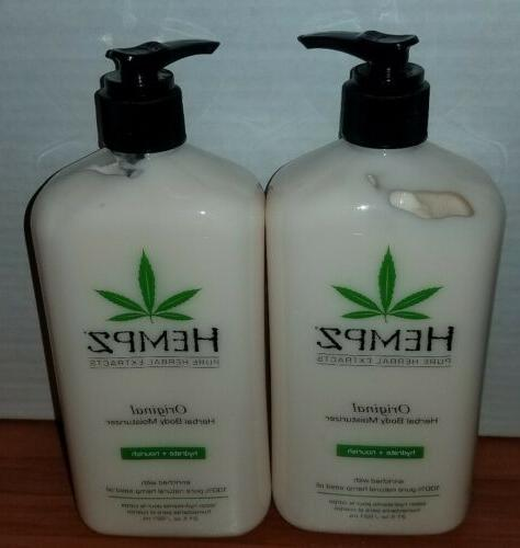 original herbal body moisturizer 21 oz each