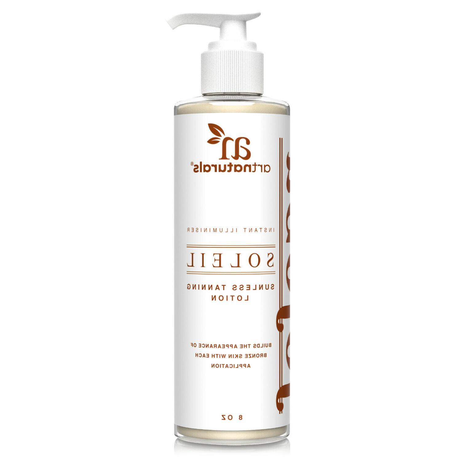 Art Naturals Protective Body Tanning Oil / Lotion 10.0 oz Sp