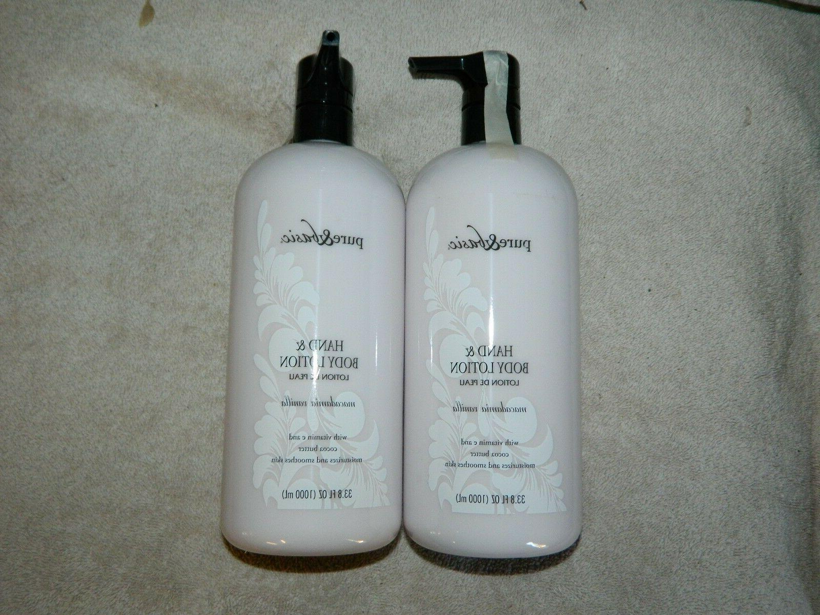 pure and basic hand and body lotion