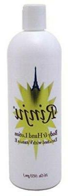 rinju body and hand lotion 16 ounce