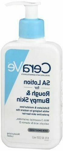 Cerave Sa Renewing Skin Lotion, 8 Ounce for Rough and Bumpy