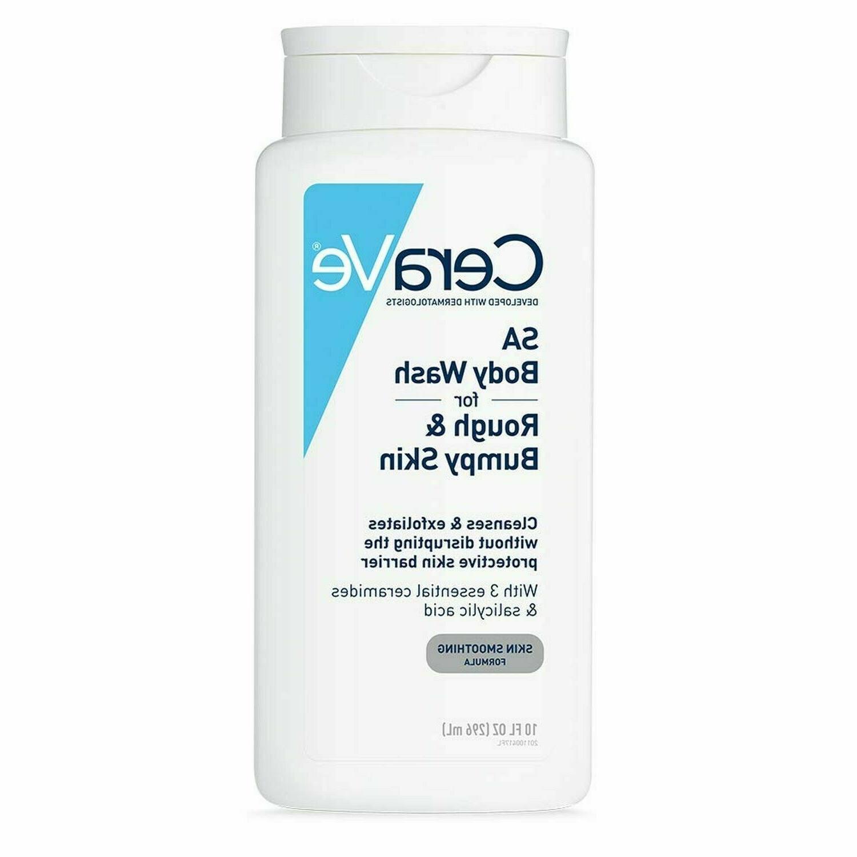 CeraVe Body Wash with Salicylic Acid | 10 Ounce | Fragrance