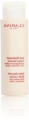Clarins Satin Smooth Body Lotion, 7 Ounce
