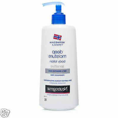 sensitive deep 24h optimal moisture body lotion