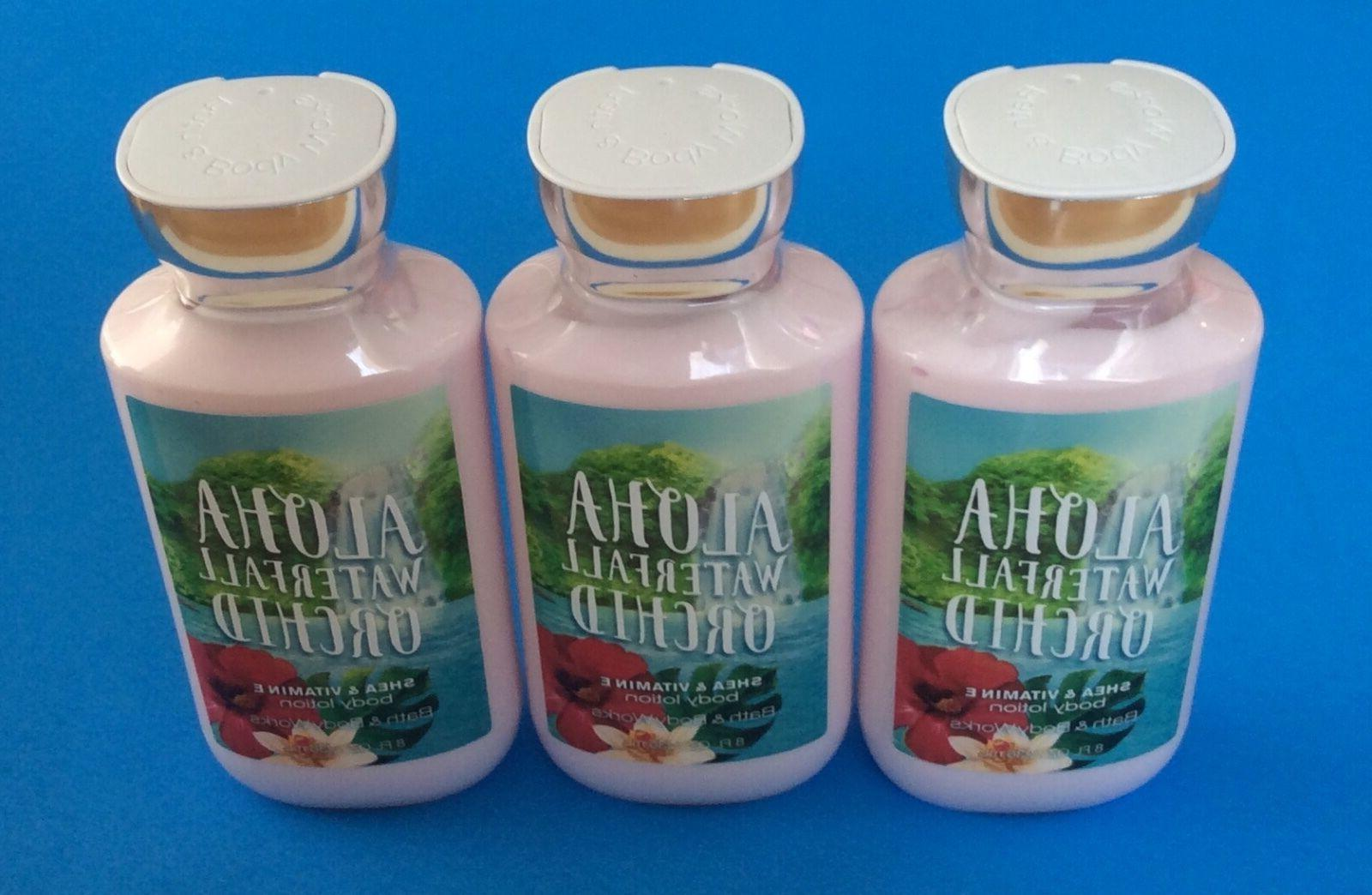 BATH & BODY WORKS Set Of ALOHA WATER ORCHID Shea & Vitamin E