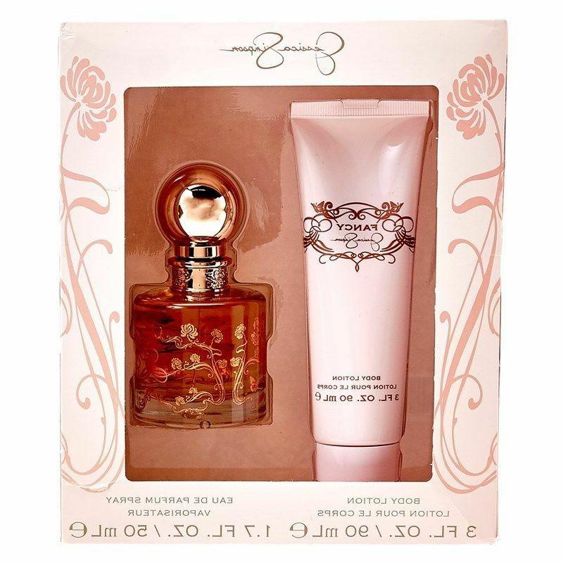 Set Women Jessica Simpson FANCY  1.7 oz EDP + 3.0 Body Lotio