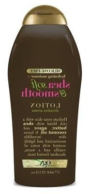 Ogx Body Lotion Shea Soft & Smooth, 19.5 Ounce