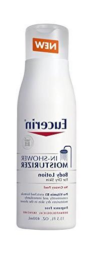 Eucerin In-Shower Body Lotion, 13.5 Ounce Per Bottle