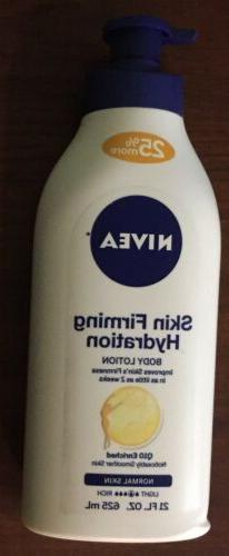 Nivea Skin Firming Hydration Body Lotion 21 fl oz