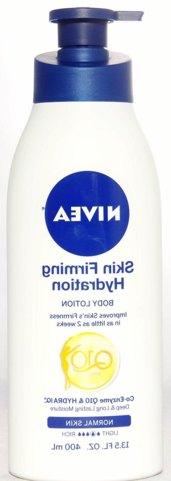 Nivea Skin Firming Body w/ Q10 for Skin 13.5oz. Lot of