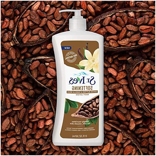 St. Ives Softening Lotion, Cocoa Vanilla Pack