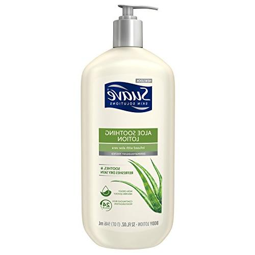 Suave Soothing with Aloe Body Lotion, 32 oz