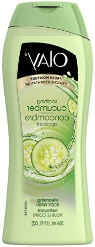 Olay Soothing Cucumber Cleansing Body Wash 12 Oz