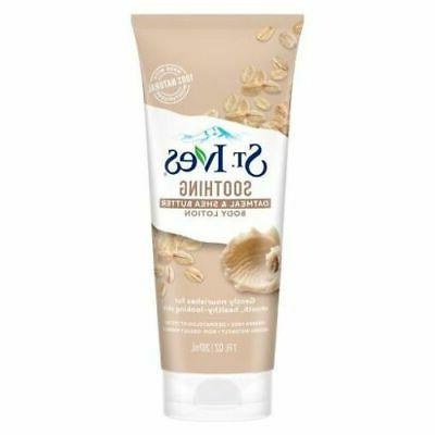 st ives oatmeal hand and body lotion
