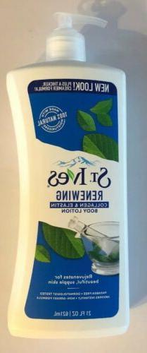 St. Ives Renewing Collagen & Elastin Body Lotion Skin Moistu