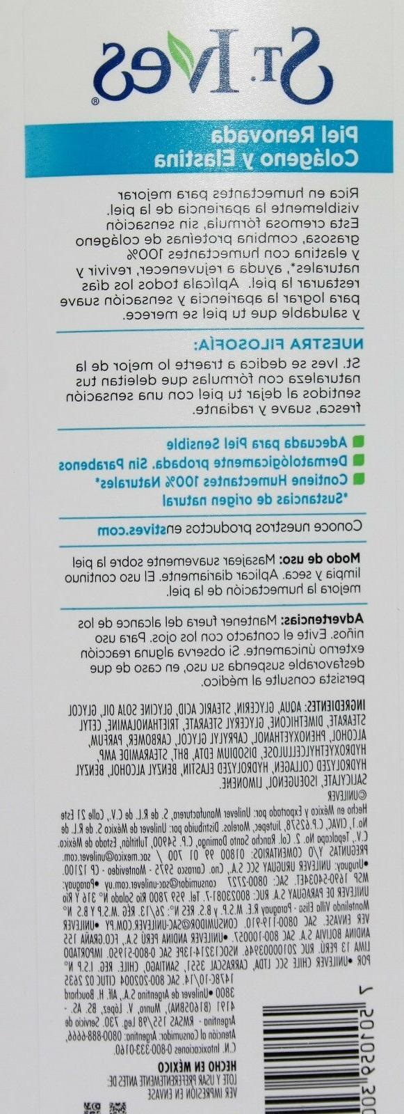 St. Skin Renewing Body Collagen and Elastin Lot