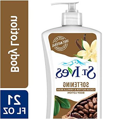 st ives softening body lotion cocoa butter
