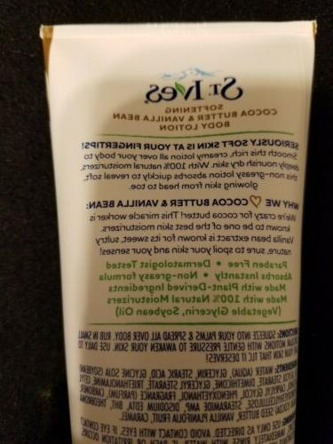 St. Butter & Vanilla Body Lotion New!