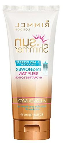 Sunshimmer In-Shower Self Tan Hydrating Lotion by Rimmel