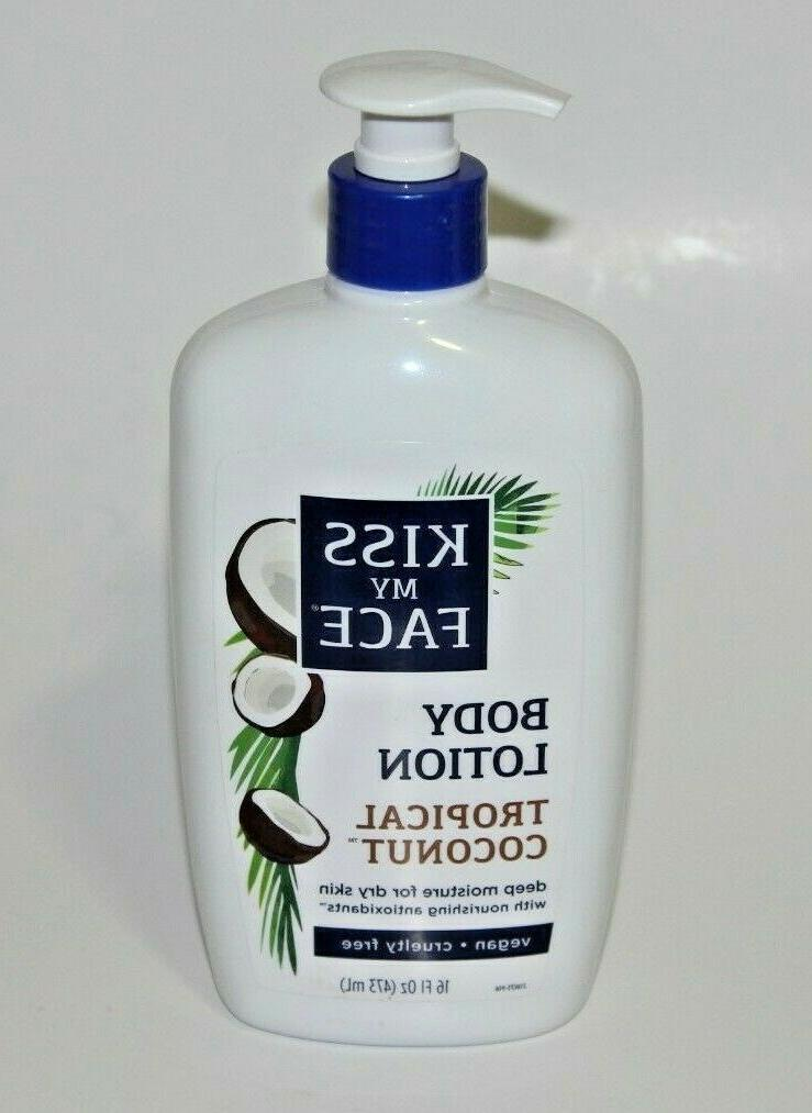 tropical coconut body lotion vegan cruelty free