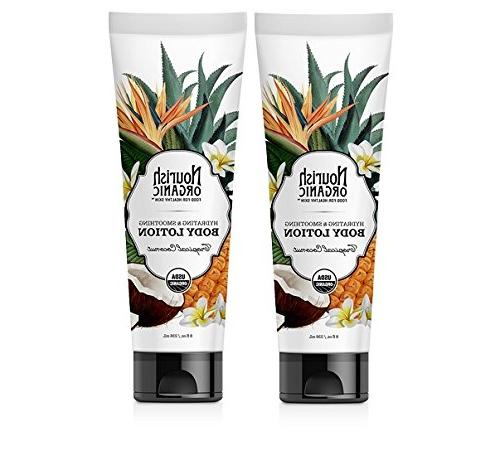 tropical coconut hydrating smoothing