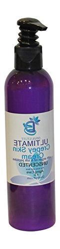 Ultimate Crepey Skin Cream With Hyaluronic Acid, Argan Oil,