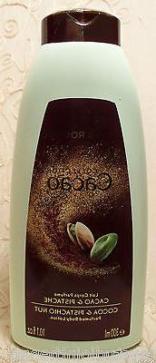 Unisex COCOA & PISTACHIO NUT BODY LOTION 10.1 fl oz Yves Roc