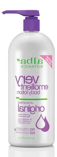 Alba Botanica Very Emollient, Unscented Body Lotion, 32 Ounc
