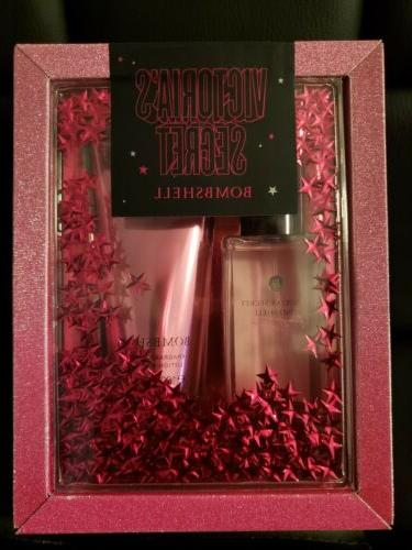 Victoria's BombShell Piece Gift Body Mist and lotion
