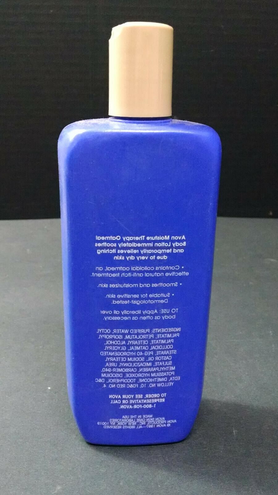 Vintage Avon Moisture Therapy Oatmeal Body Lotion, Dry 13.5 Oz