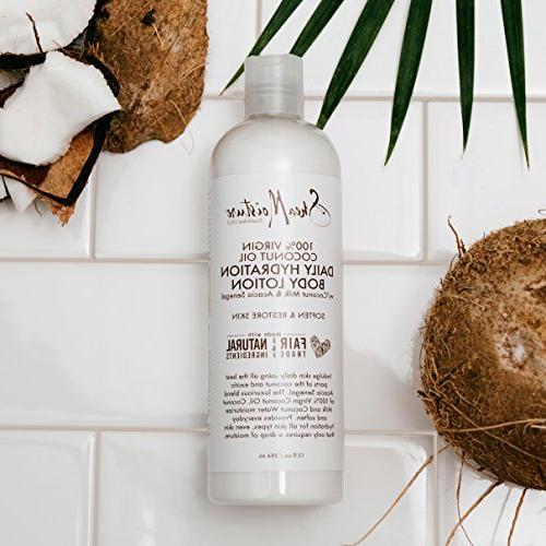 Shea Coconut Oil Daily Hydration Body Lotion,