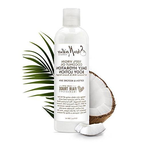 Shea Virgin Oil Hydration Lotion, 13 Ounce