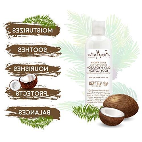 Shea Moisture Virgin Coconut Oil Daily Lotion, Ounce