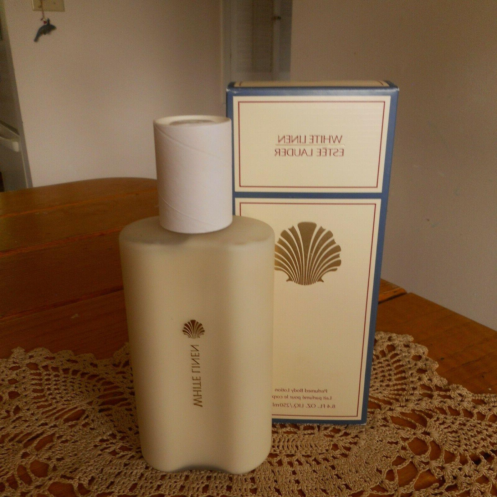 Estee Lauder White Linen Perfumed Body Lotion 8 4