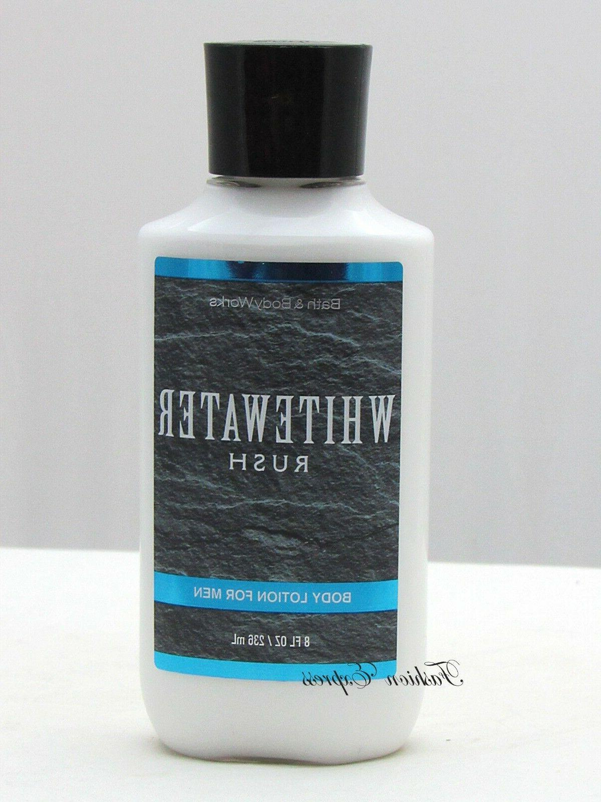 NEW BATH & BODY WORKS WHITEWATER RUSH FOR MEN BODY LOTION HA