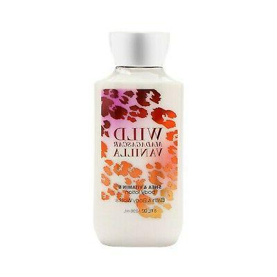 Bath & Body Works Wild Madagascar Vanilla 8.0 Oz Body Lotion