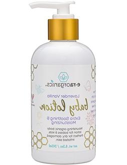 Lavender Baby Body Lotion – Soothing Natural & Organic Bod